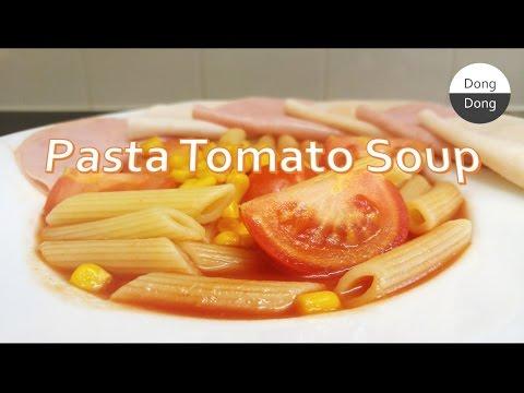 Quick & Easy Recipes! #3 | Pasta Tomato Soup