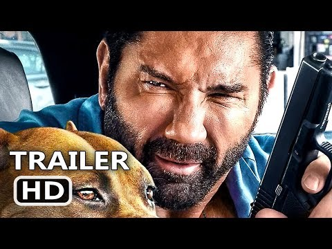 STUBER Trailer # 2 (NEW, 2019) Dave Bautista, Action Movie HD