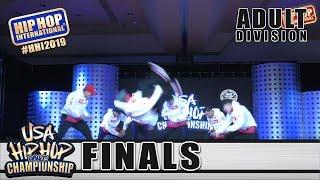 Exiles - Coolidge, AZ (2nd Place Adult) at HHI's 2019 USA Hip Hop Dance Championship Finals