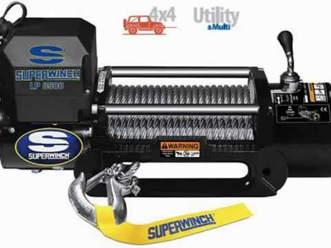 steel hawse handheld remote Superwinch 1585202 LP8500 Winch Gen II 12 VDC 8500lbs//3856kg
