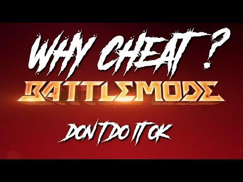 Battlemode Cheater Caught Using God Mode! Why Do It? |