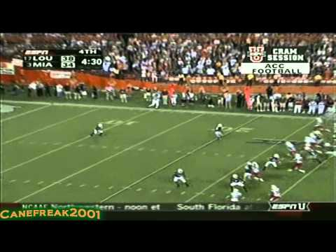 Devin Hester Miami Hurricanes Highlights