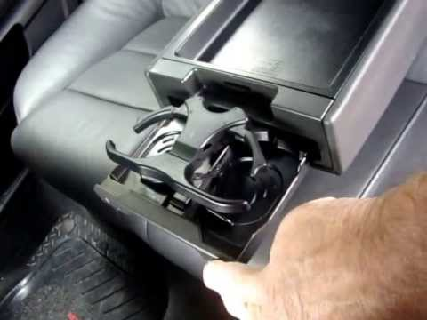 Audi Rear Cup Holders 001 Youtube