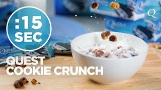 Healthy Breakfast Cookie Crunch Cereal - #15SecondRecipe