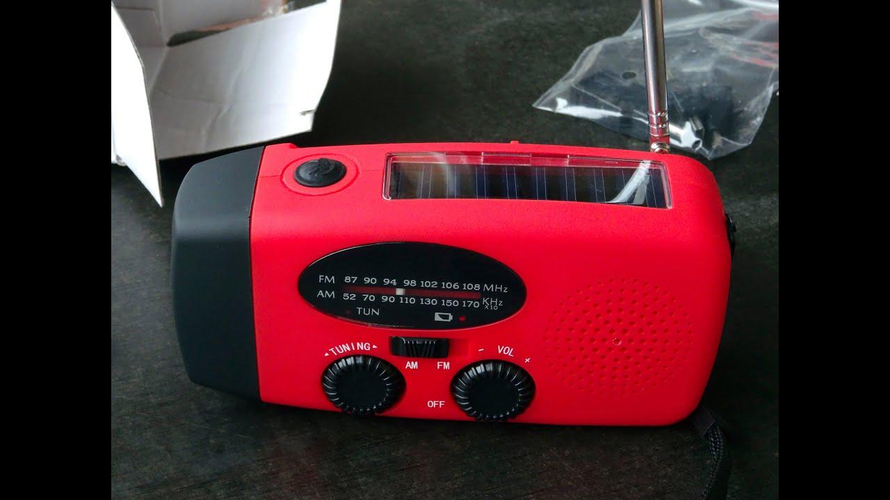 Solar und kurbelradio mit led lampe youtube solar und kurbelradio mit led lampe parisarafo Choice Image