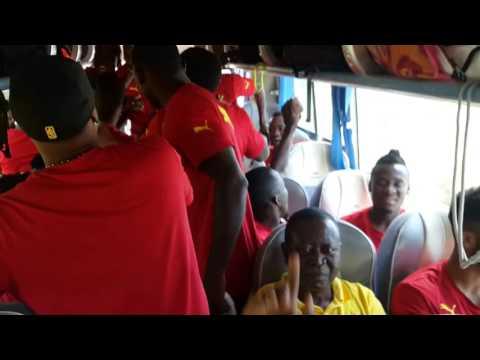 Ghana footballers in high spirits for Comoros game