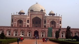 HUMAYUN'S TOMB ★ Monument to Lost Love ★ Mughal Emperor ★ Delhi ★ INDIA