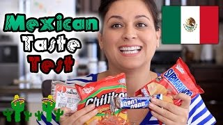 MEXICAN FOOD TASTE TEST #1