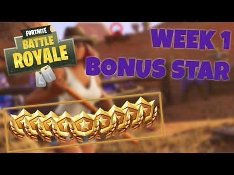 WEEK 1 BONUS STAR LOCATION – SEASON 6 | Fortnite Battle Royale