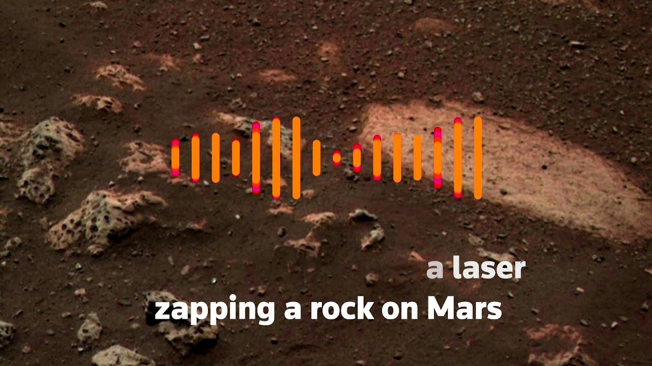Mars rover Perseverance shoots laser at Martian rocks