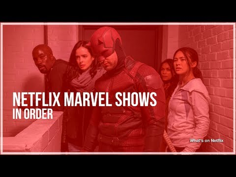 How to watch the Marvel Netflix shows in order - What's on Netflix