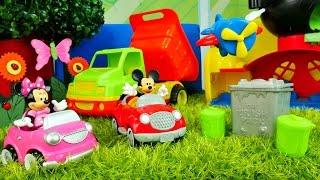 Mickey Fare temizlik oyunu. Mini ve Miki izle