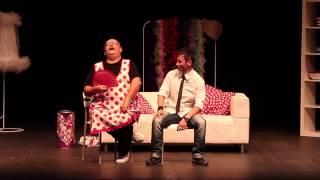 Dos hombres solos sin punto com ni na, teatro Alameda Málaga