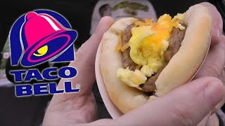 Taco Bell Sausage, Egg & Cheese Biscuit Taco Review