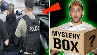 (GOT ARRESTED!) BUYING A MYSTERY BOX OFF THE DARK WEB GONE WRONG! WHAT IS INSIDE WILL MAKE YOU SICK!