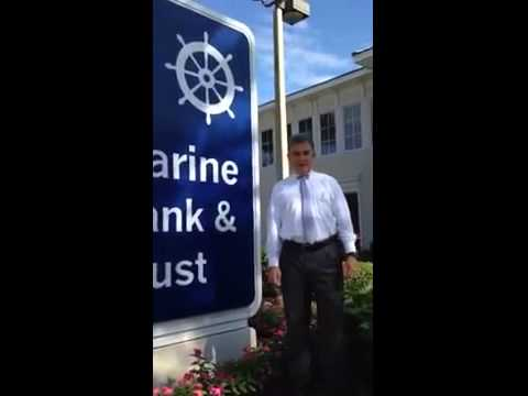 Bill Penney of Marine Bank Only Uses White Glove