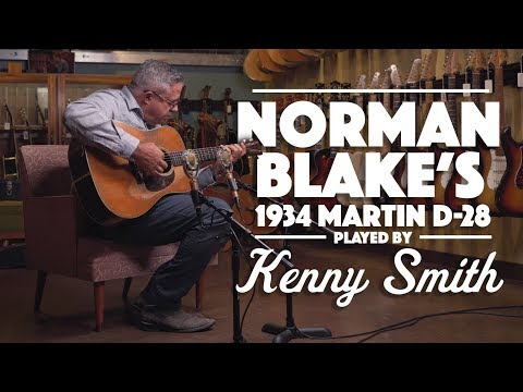 Norman Blake's '34 D-28 Played By Kenny Smith
