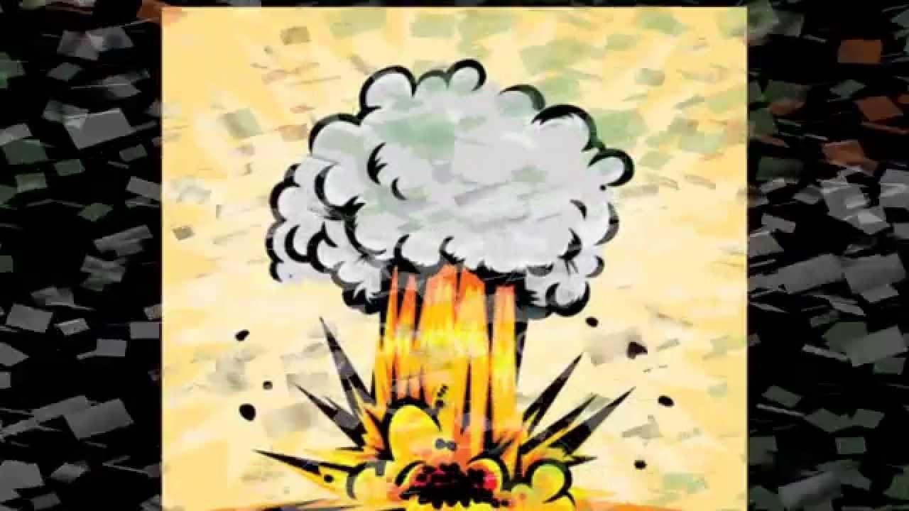 Cartoon Plane Crash Youtube