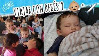 Cómo viajar con niños o bebés en avión