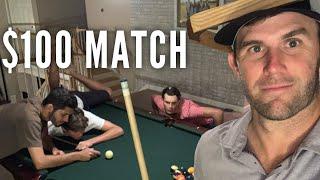 $100 Pool Match w/ GM Golf, Matt, & Stephen