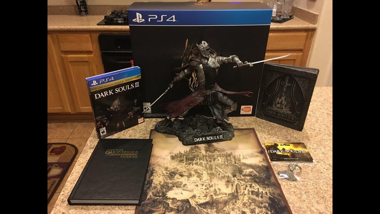 Dark Souls III (Collectors Edition) Unboxing! - YouTube on