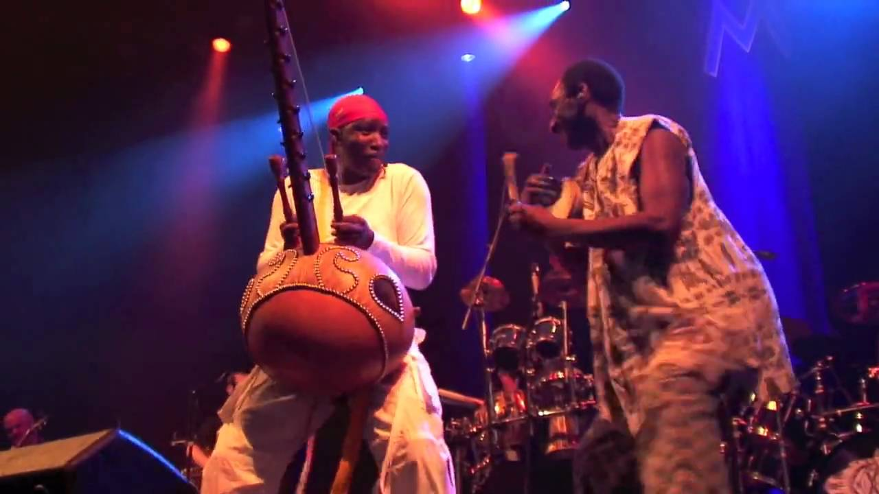 AFRO CELT SOUND SYSTEM - Womad Festival UK 2010 Copyright NAMUN TV ...
