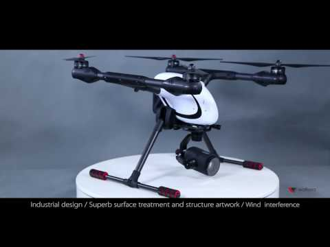 Walkera Voyager 4  4K  18 times Zoom camera Drone release