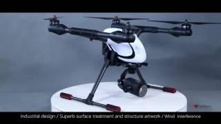 walkera Voyager 4  4K  18 times Zoom camera Drone release