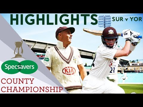 Pope And Curran Show Bright Future For England: SUR v YOR - County Championship Highlights 2018