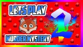Lets Play Murder Mystery 2 on ROBLOX Faux vs Captain America!?