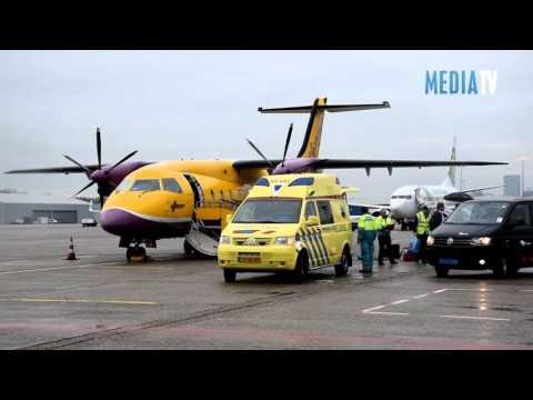 Eerste gipsvlucht van het seizoen geland op Rotterdam The Hague airport