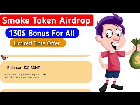 130$ Bonus || Smoke token Airdrop || প্রত্যেকে পাবেন || সময় সীমিত ? | Online Income | Solution spark