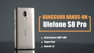 80 DUAL-CAMERA SMARTPHONE Ulefone S8 Pro Hand on review unboxing camera and battery tests