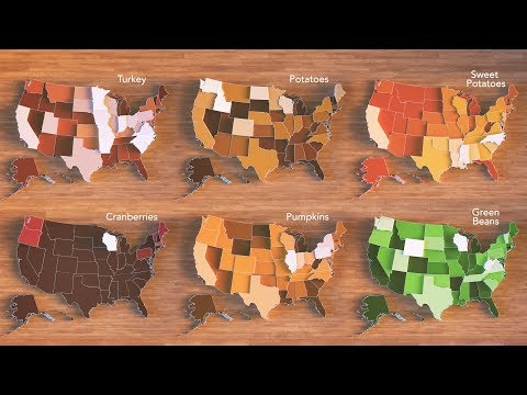 Animated Maps: Mapping the Thanksgiving Harvest