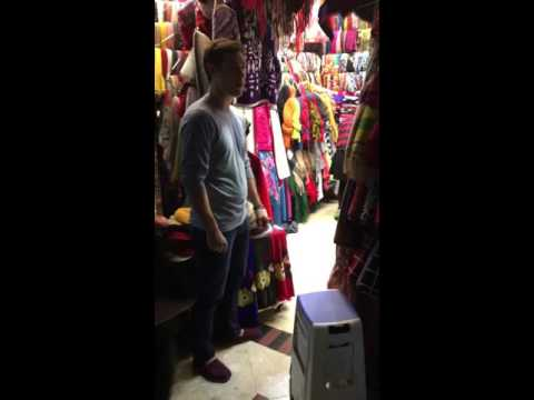 Rob negotiating at Luohu Commercial City 12/15