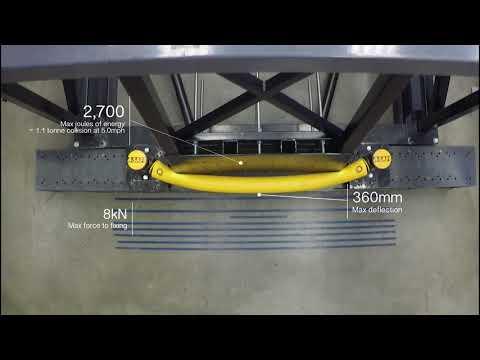 a-safe-|-mflex-single-traffic-barrier---pendulum-test