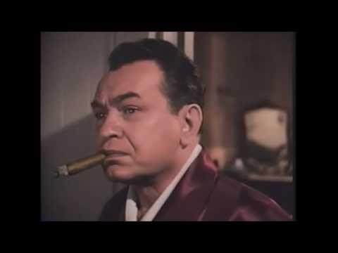 Edward G Robinson  colorized,  Key Largo (1948),  Scene 1