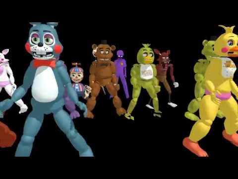 (MMD x FNAF)Talk Dirty to me (Animatronic version)