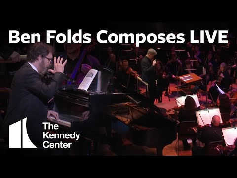 Ben Folds Composes a  LIVE for Orchestra In Only 10 Minutes
