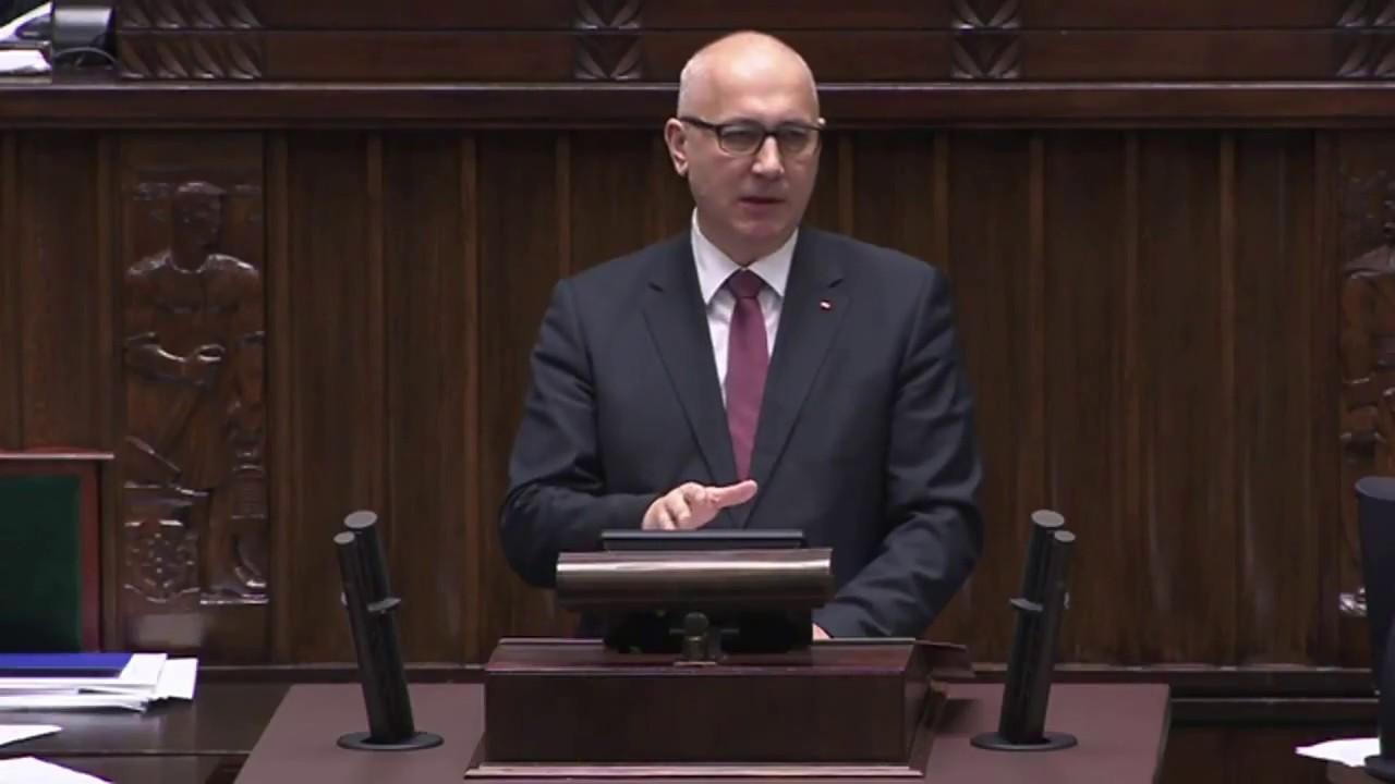 Joachim Brudziński – Wystąpienie Szefa MSWiA w Sejmie