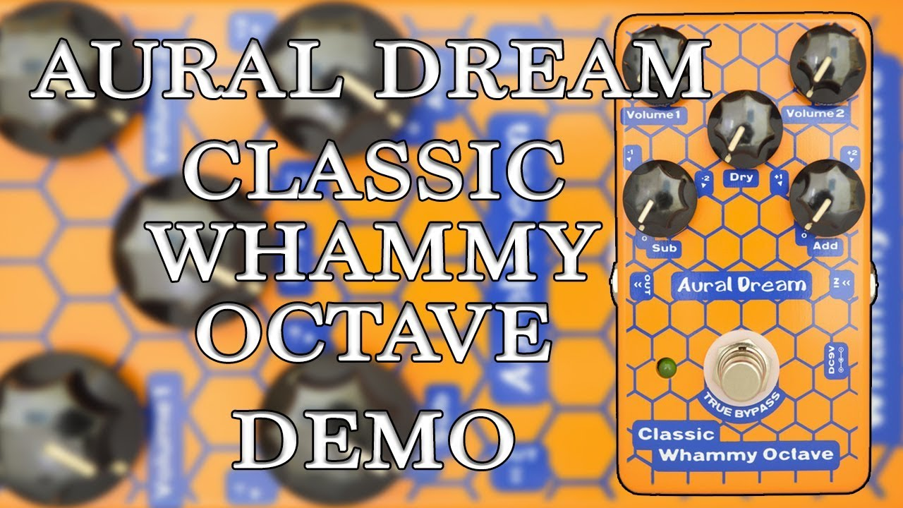 2 octaves including adjustable time difference,True Bypass or Aural Dream Octave Divider Guitar Effects Pedal with Monophonic and polyphonic Pitch drop 1 octave and