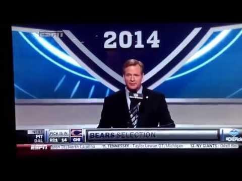 Bears first round pick 2014 NFL draft