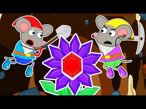 Lion Family 🍒 Rat's Lair #11. Diamond Flower | Cartoon for Kids