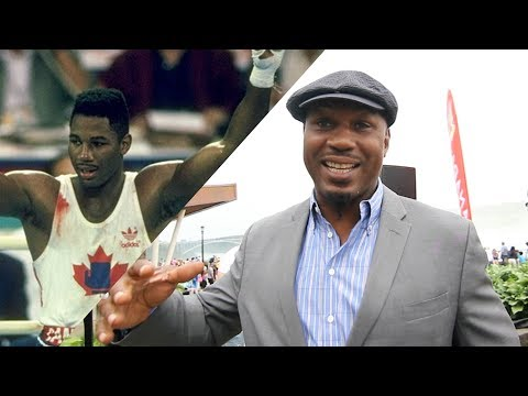 """""""WHY SHOULD WE GO TO THE U.S. TO FIGHT?!"""" Lennox Lewis discusses the future of Boxing in Canada"""