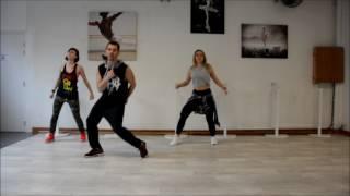 CNCO Reggaeton Lento - Choréo Zumba Fitness By Denis Souvairan Antibes