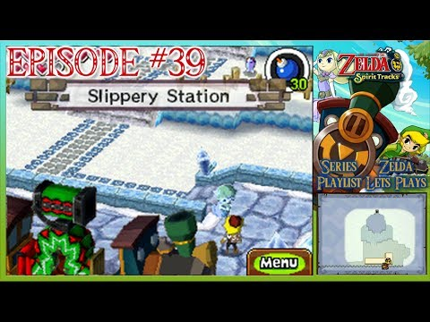 The Legend Of Zelda: Spirit Tracks - Vessel Transportation & Secret Stations - Episode 39