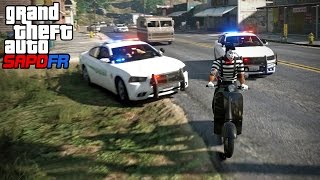GTA SAPDFR - Episode 45 - Mime on a Moped (My Run)