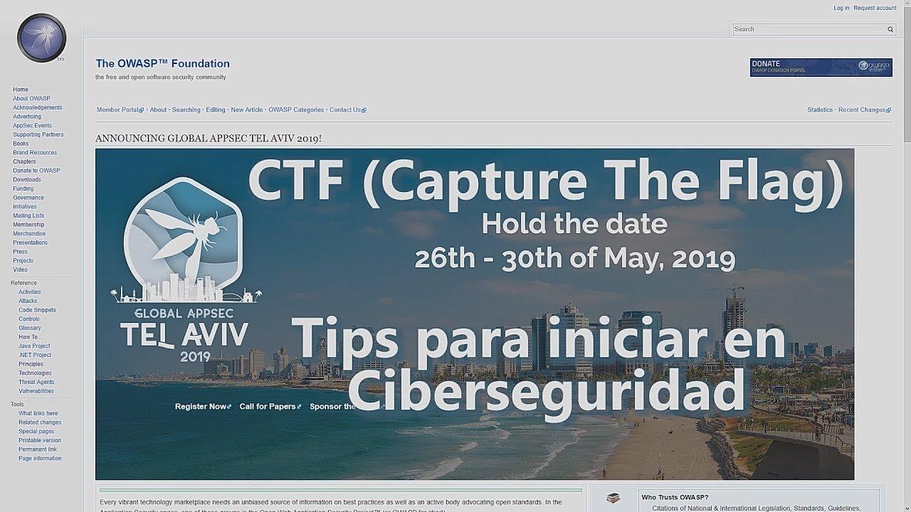 CTF - Tips para iniciar en Ciberseguridad