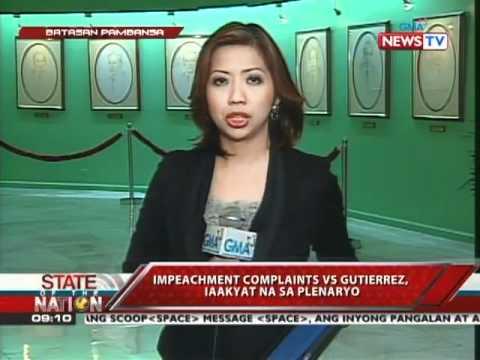 Impeach raps vs. Ombudsman approved for plenary vote