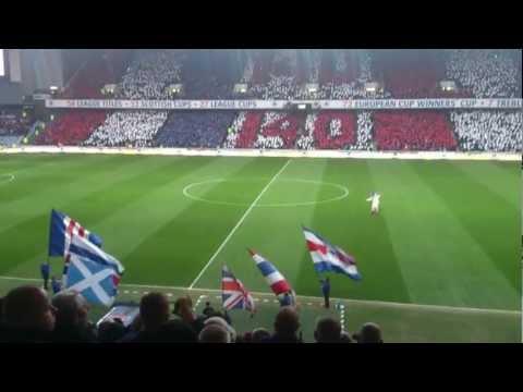 Rangers FC 140 Years Pre-Match Atmosphere HD
